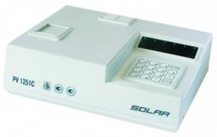 Полуавтоматический биохимический полуавтоматический анализатор SOLAR PV 1251